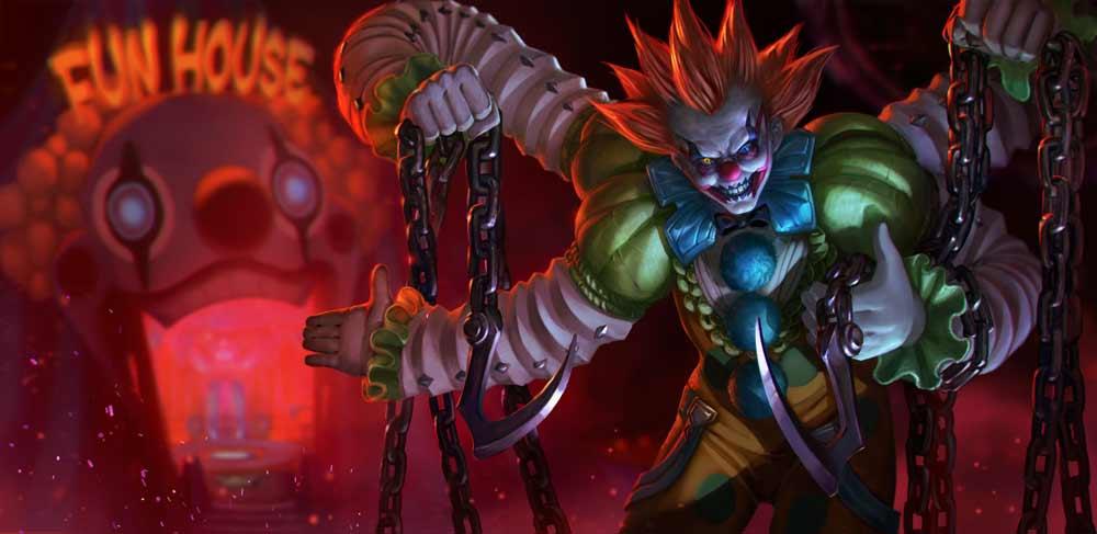 Vainglory Maxbob Clownwalker
