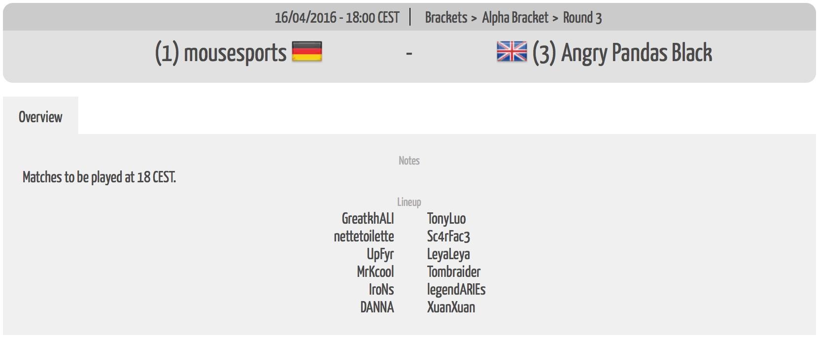 2016-04-16 mousesports vs. AP Black