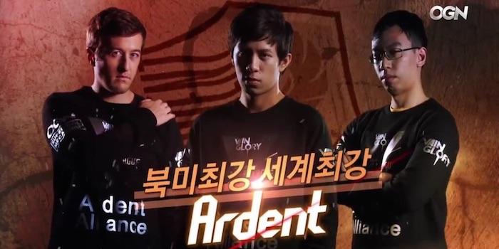 Ardent team photo