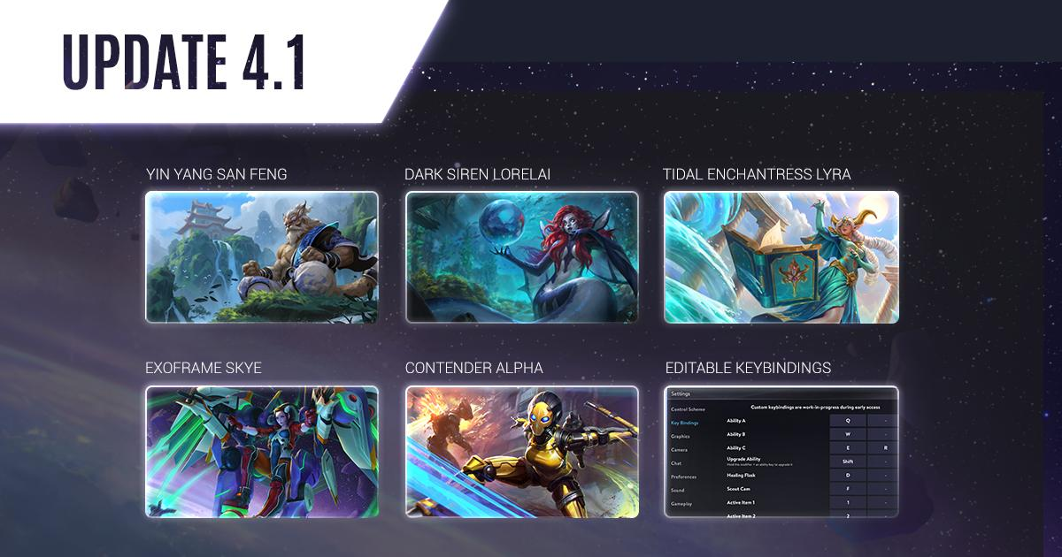 Vainglory Update 4.1