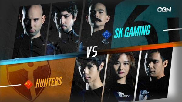 Hunters vs. SK