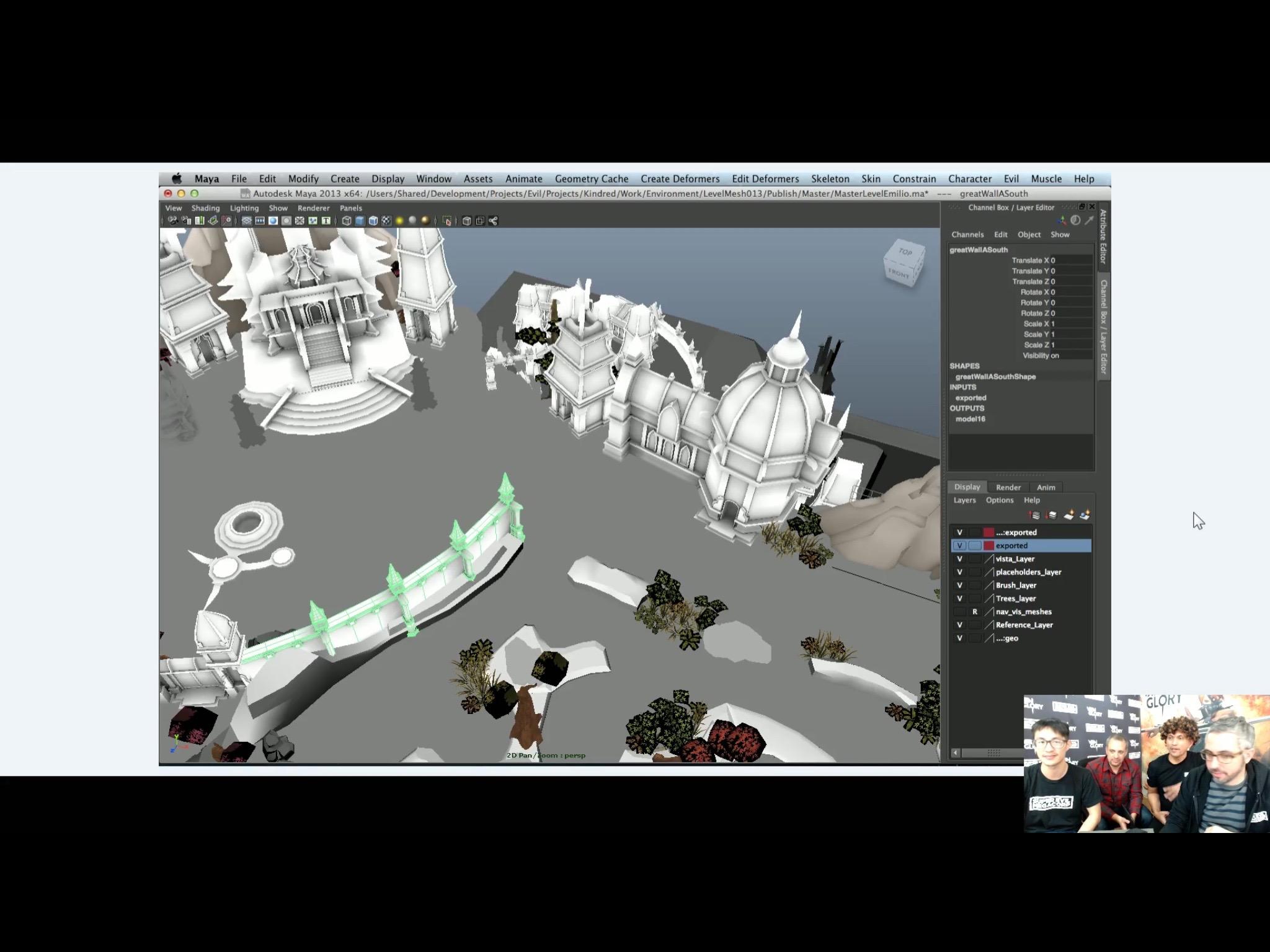 Unpainted Building Models
