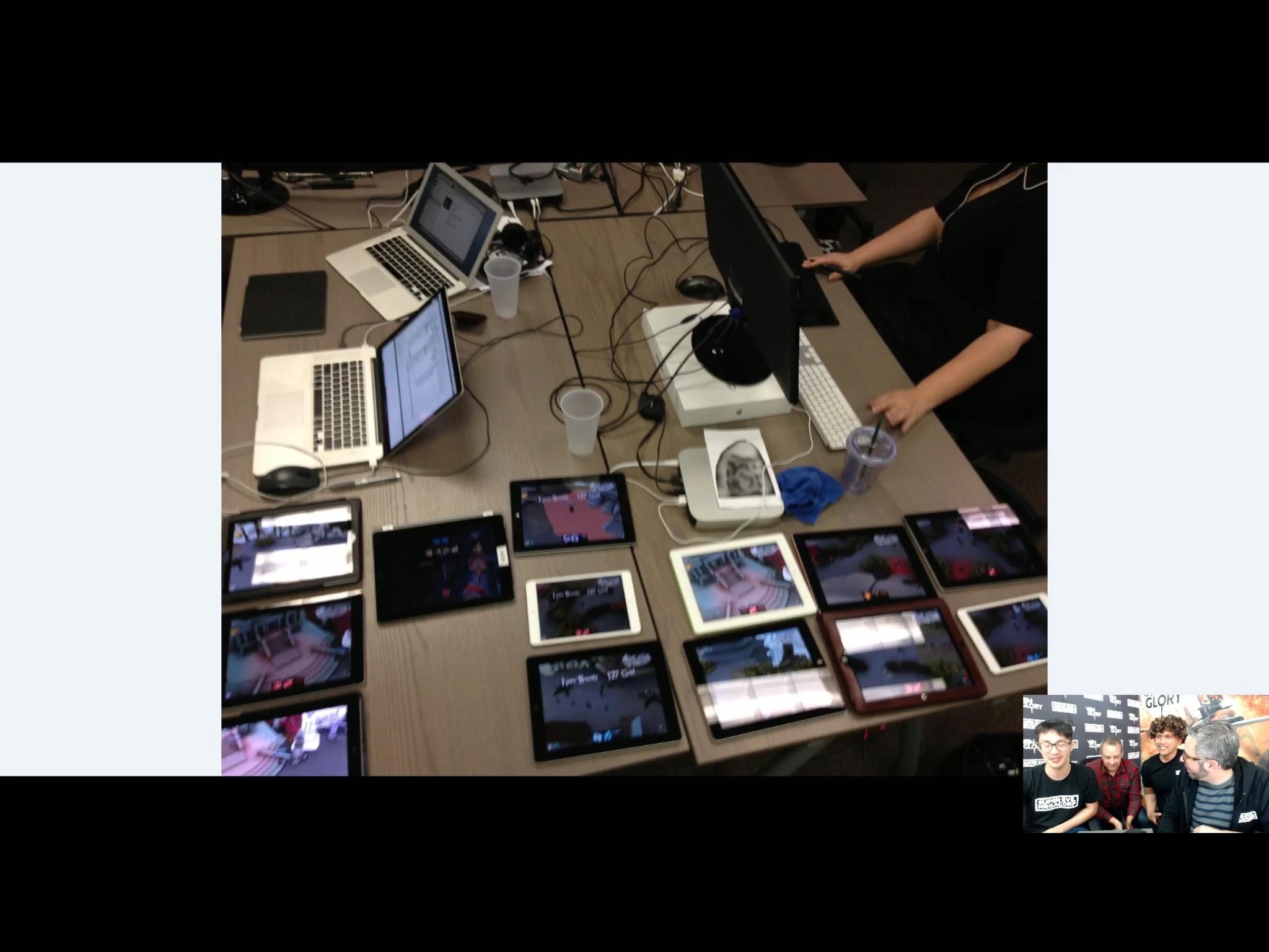 Ton of iPads Used in Testing