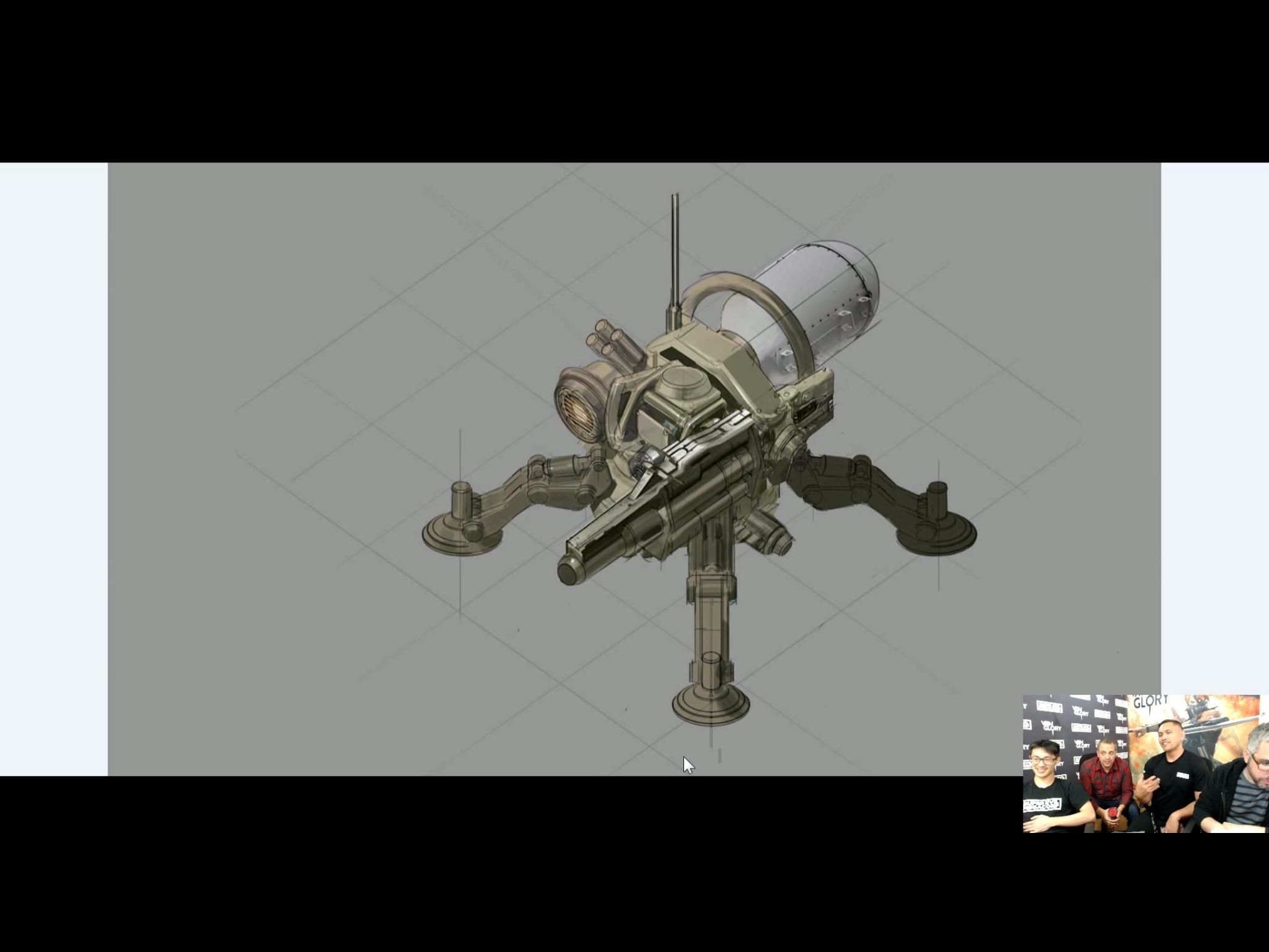 Turret Concept Art