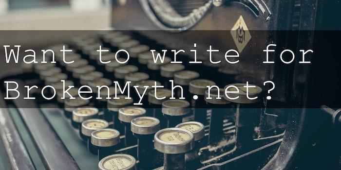 broken myth writer recruitment