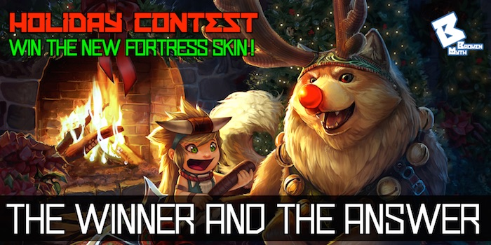 fortress contest – winner and answer 700×350