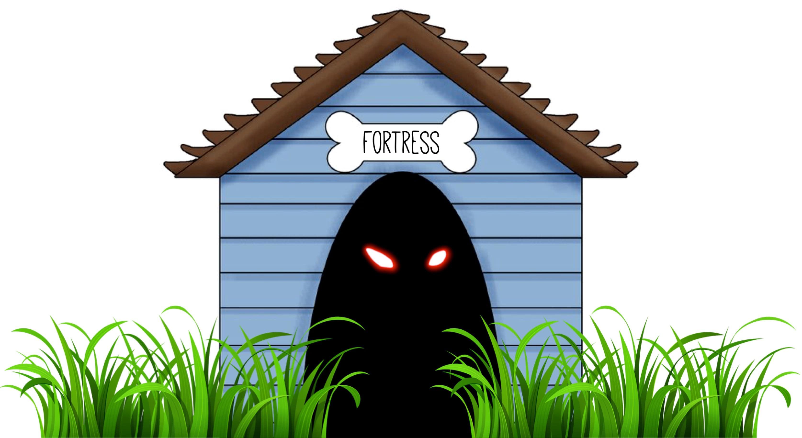 fortress dog house-min