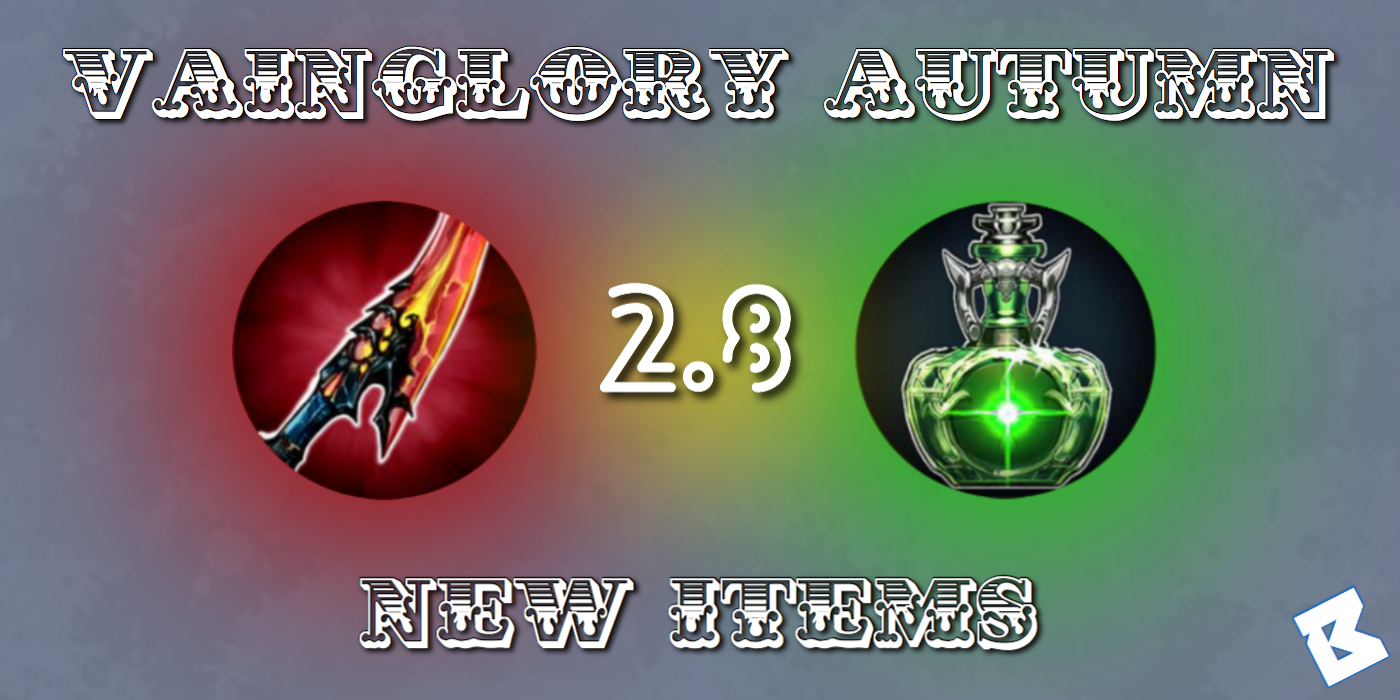 vainglory autumn new items