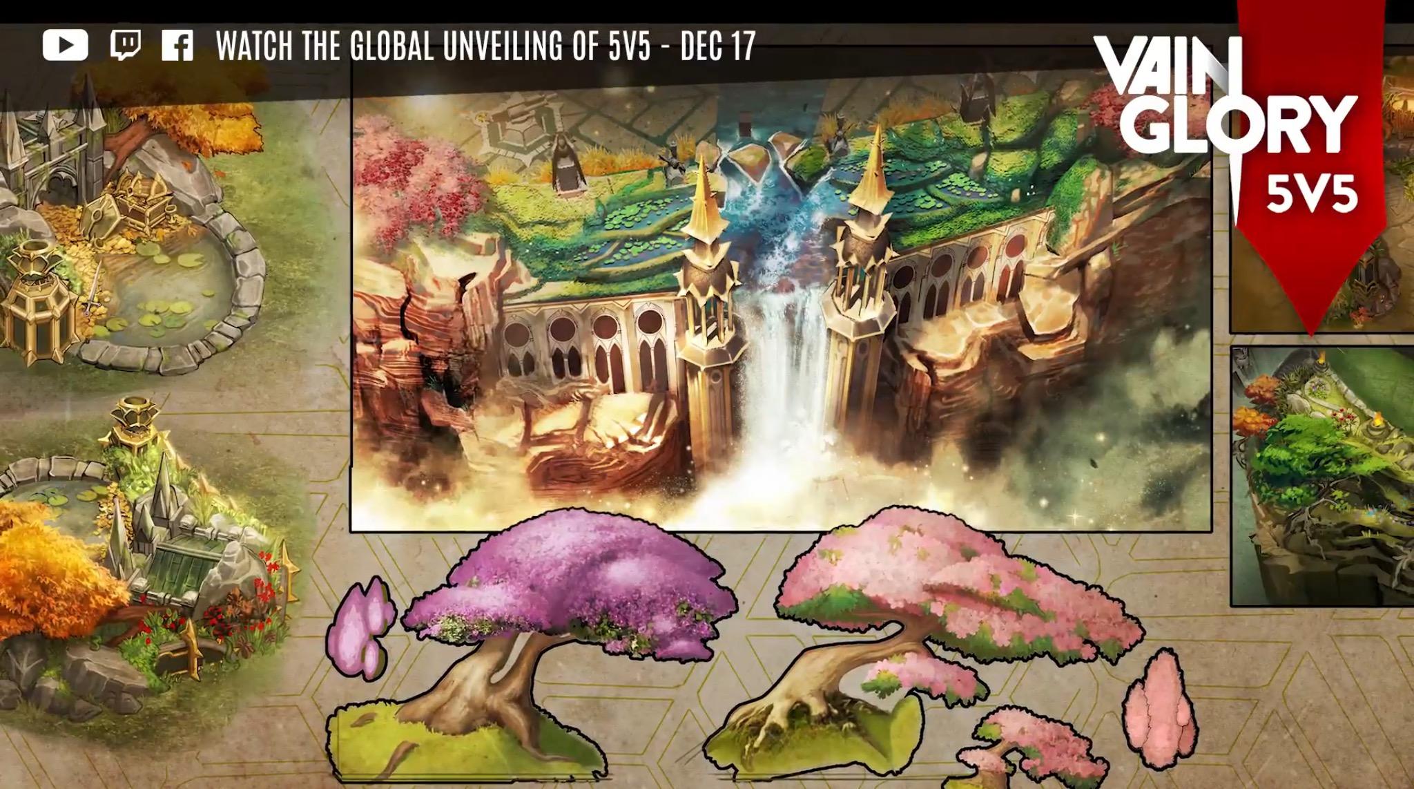 vainglory 5v5 map teaser