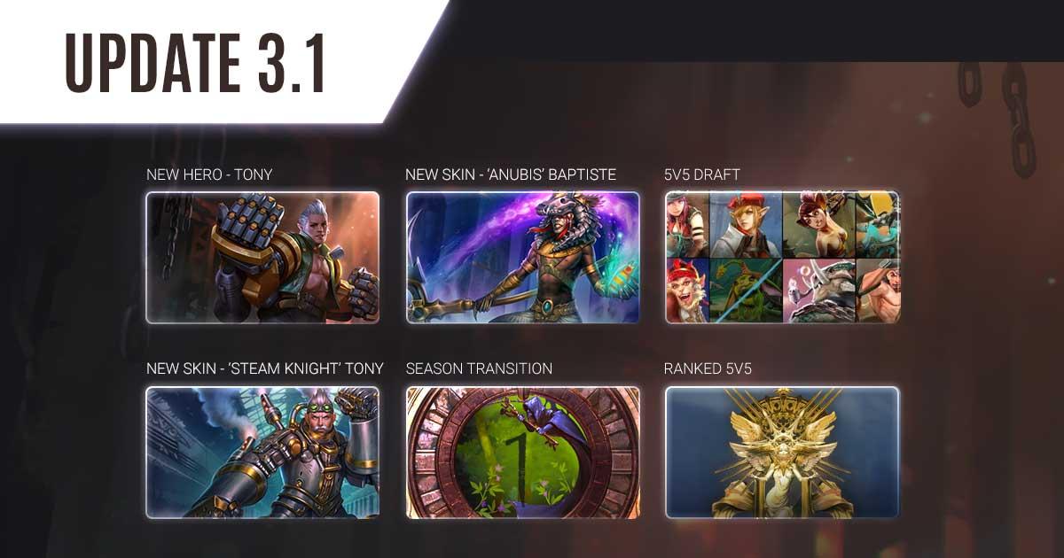 vainglory update 3.1