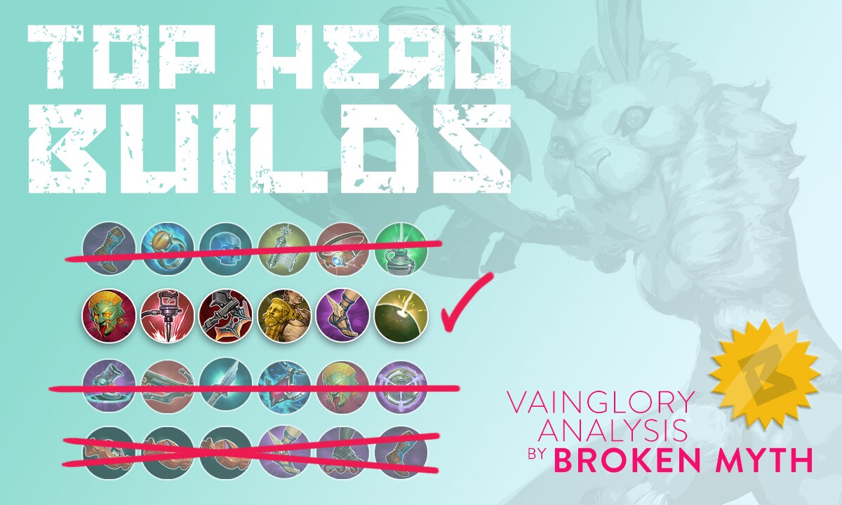vainglory hero builds