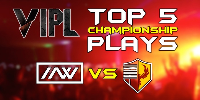 vipl2 top 5 championship plays